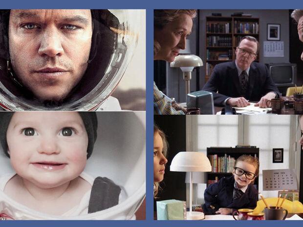 Αναπαριστούν σκηνές από ταινίες υποψήφιες για Όσκαρ - Οι φώτο γίνονται viral (pics)