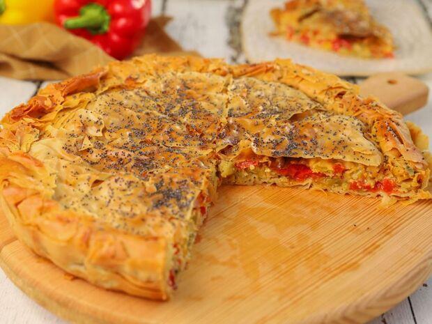 Συνταγή για πιπερόπιτα από τον Γιώργο Τσούλη
