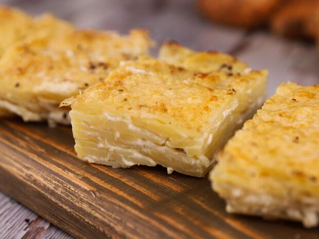 Συνταγή για πατάτες ντοφινουάζ από τον Γιώργο Τσούλη