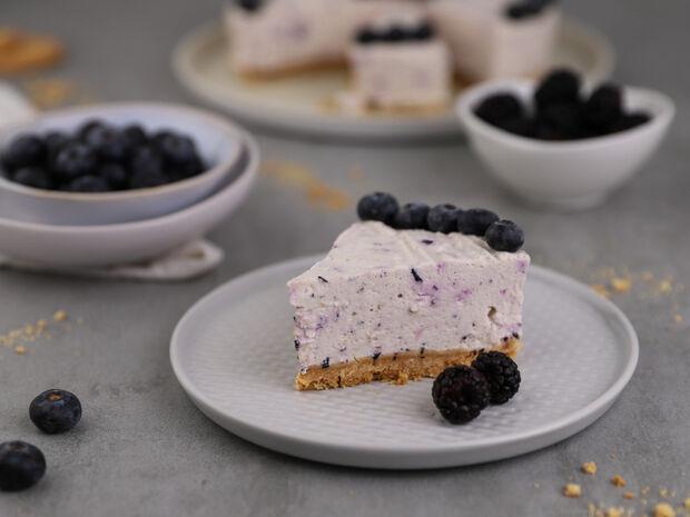 Tάρτα γιαουρτιού με blueberries