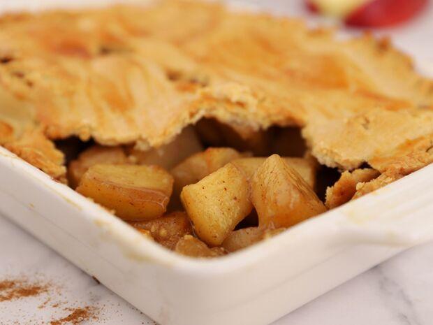 Συνταγή για μηλόπιτα χωρίς ζάχαρη από τον Γιώργο Τσούλη