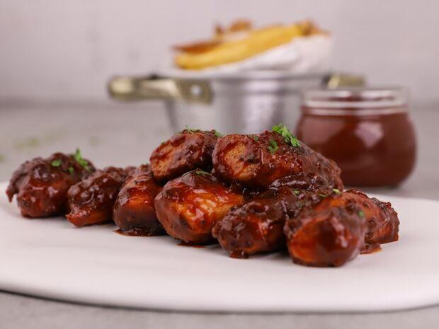 Συνταγή για spare ribs από μανιτάρια από τον Γιώργο Τσούλη