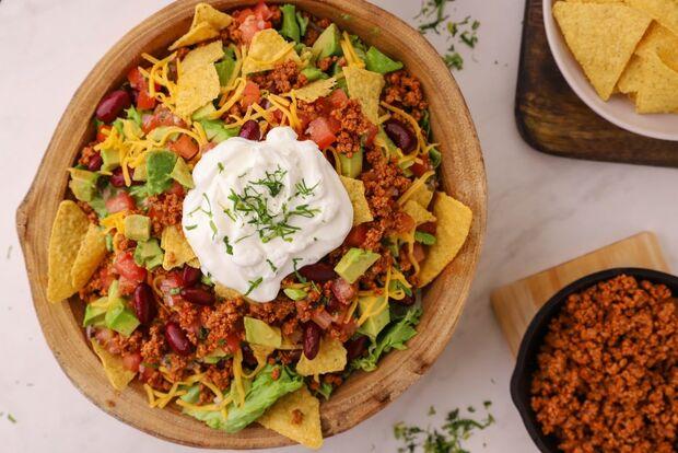 Μεξικάνικη σαλάτα από τον Γιώργο Τσούλη