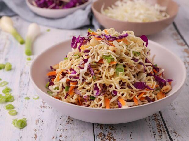 Συνταγή για noodles με λαχανικά από τον Γιώργο Τσούλη