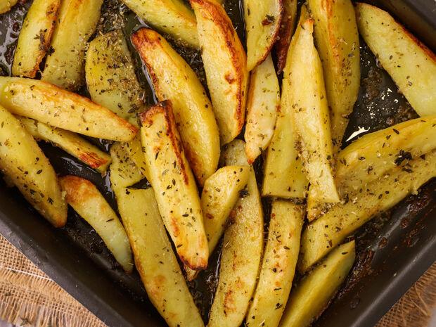 Πατάτες φούρνου από τον Γιώργο Τσούλη