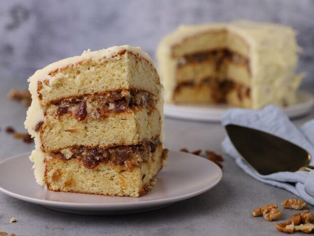 Τούρτα με σταφίδες και αποξηραμένα σύκα (Lady Baltimore cake) από τον Γιώργο Τσούλη