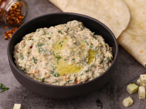 Συνταγή για λιβανέζικη μελιτζανοσαλάτα (Baba ganoush) από τον Γιώργο Τσούλη