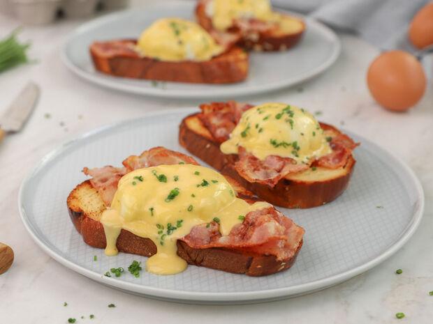 Αυγά Benedict από τον Γιώργο Τσούλη
