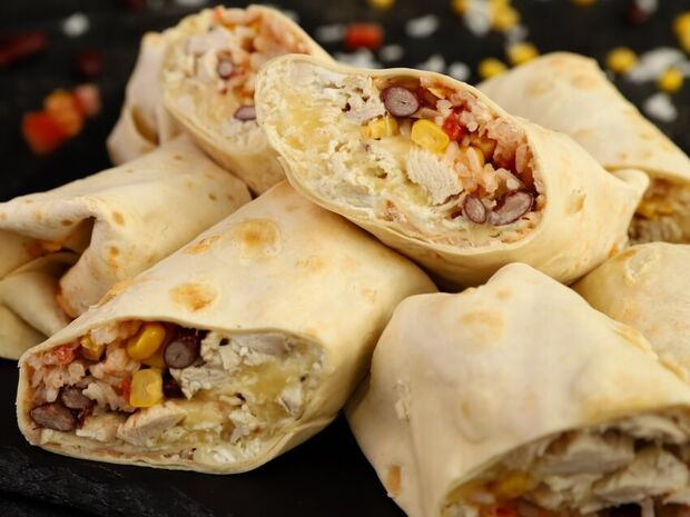 Burritos με κοτόπουλο από τον Γιώργο Τσούλη