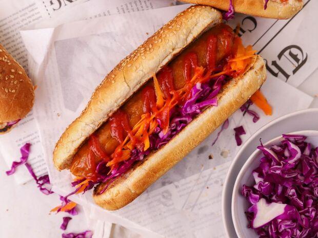 Vegan hot dog του Γιώργου Τσούλη