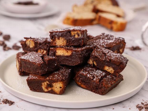 Brownies με τσουρέκι από τον Γιώργο Τσούλη