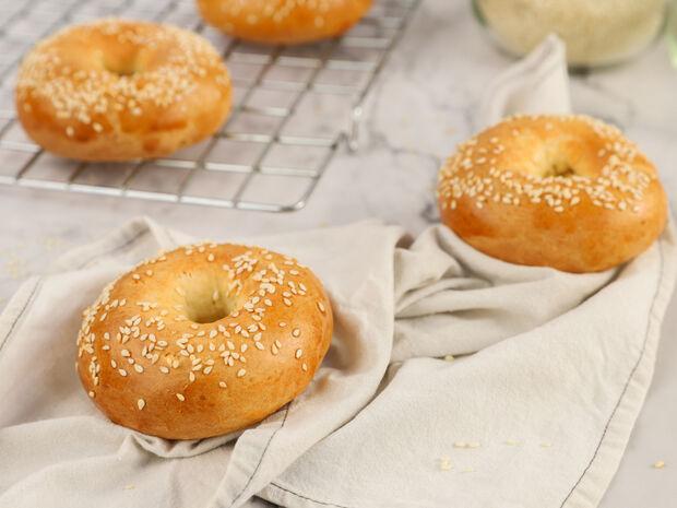 Γρήγορα bagels από τον Γιώργο Τσούλη