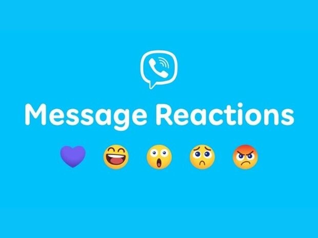 Το Viber ενισχύει την εκφραστικότητά σου, προσθέτοντας τη λειτουργία αντιδράσεων emoji