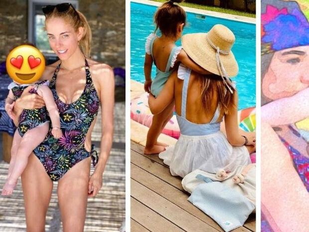 Twinning: Διάσημες Ελληνίδες μαμάδες φορούν ίδιο μαγιό με τις κόρες τους