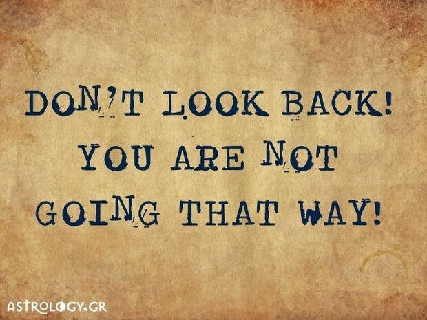 Ζώδια Σήμερα 26/09:  Μην κοιτάς πίσω σου