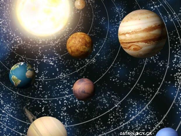 Η εξωστρεφής, η εσωστρεφής πλευρά των πλανητών και οι «σκιές» τους
