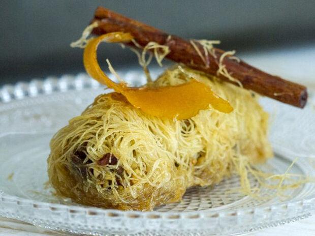 Συνταγή για κανταΐφι από τον Άκη Πετρετζίκη