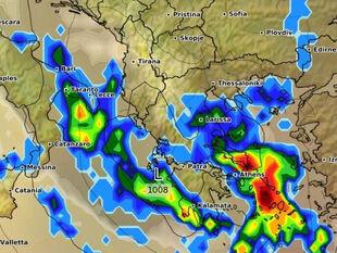 Καιρός: Ερχεται κακοκαιρία με μεγάλα ύψη βροχής! Καρέ καρέ η εξέλιξη...