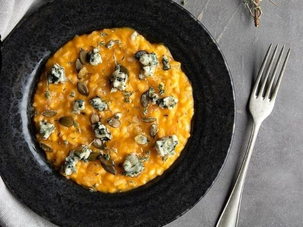 Συνταγή για ριζότο κολοκύθας από τον Άκη Πετρετζίκη