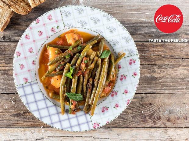 Συνταγή για φασολάκια λαδερά από τον Άκη Πετρετζίκη