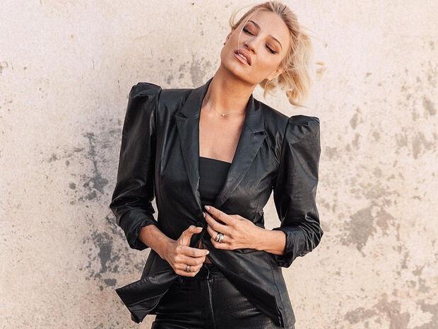 Total leather look: Πώς φόρεσαν οι Ελληνίδες celebrities την πιο hot τάση