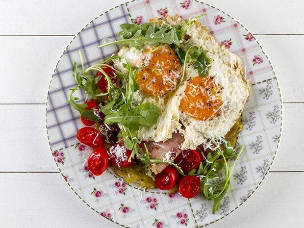Συνταγή για πατάτες νταρφίν με αβγά από τον Άκη Πετρετζίκη