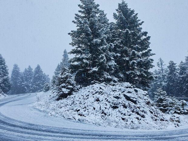 Καιρός - Αρνιακός: Ο Παπαδάκης, τα χιονοδρομικά και ο καιρός των Χριστουγέννων