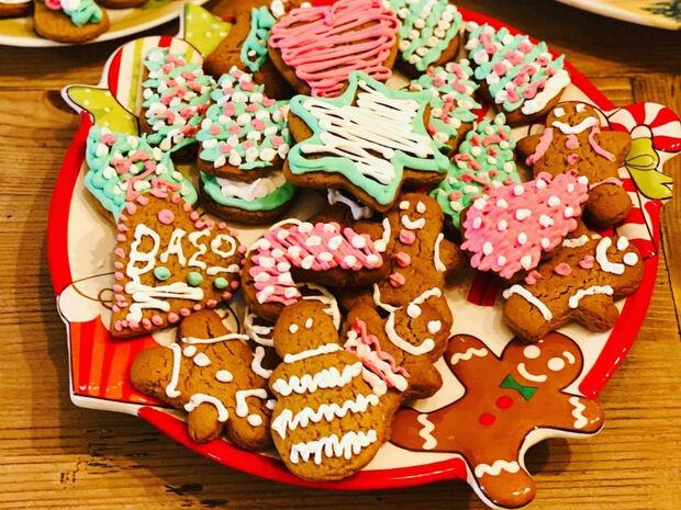 Τα γιορτινά μπισκότα με ginger του Λευτέρη Σουλτάτου (photos)