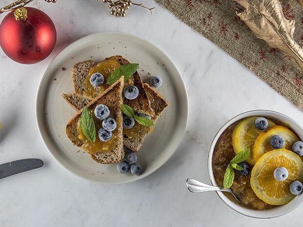 Συνταγή για χριστουγεννιάτικη μαρμελάδα από τον Άκη Πετρετζίκη