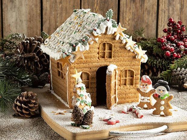 Συνταγή για εύκολο gingerbread house από τον Άκη Πετρετζίκη