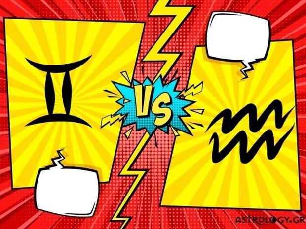 Δίδυμος VS Υδροχόου: Ποιος έχει τα λιγότερα συναισθήματα;