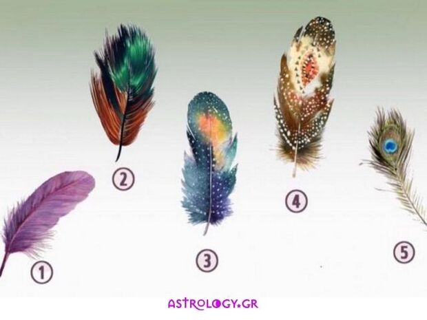 Διάλεξε 1 από τα 5 φτερά και ανακάλυψε την κρυμμένη σου δύναμη