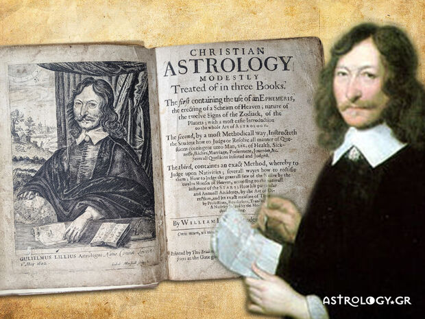 William Lilly: Ο... ειδικός στην ερμηνεία των ωριαίων αστρολογικών χαρτών