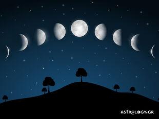 Οι όψεις της Σελήνης στην Αστρολογία Επιλογής