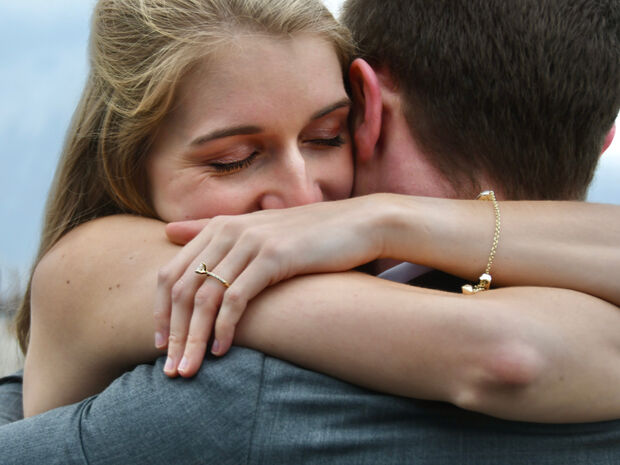 Αυτός είναι ο πιο συνήθης τρόπος με τον οποίο τα ζευγάρια εκφράζουν την αγάπη τους