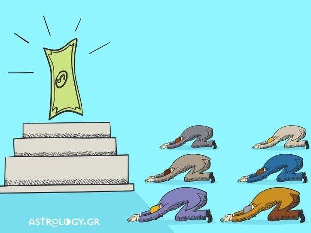 Τα 4 ζώδια που έχουν το χρήμα για Θεό τους