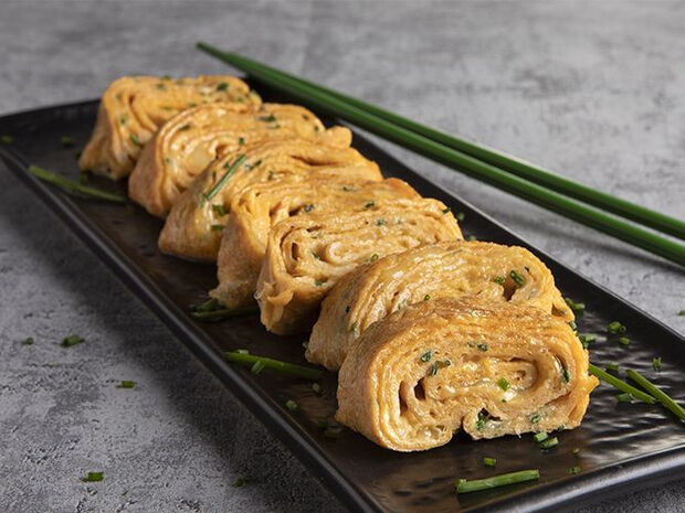 Συνταγή για Japanese omelette από τον Άκη Πετρετζίκη