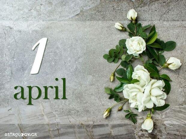 Ζώδια Σήμερα 01/04: Ο ενθουσιασμός είναι μεταδοτικός!