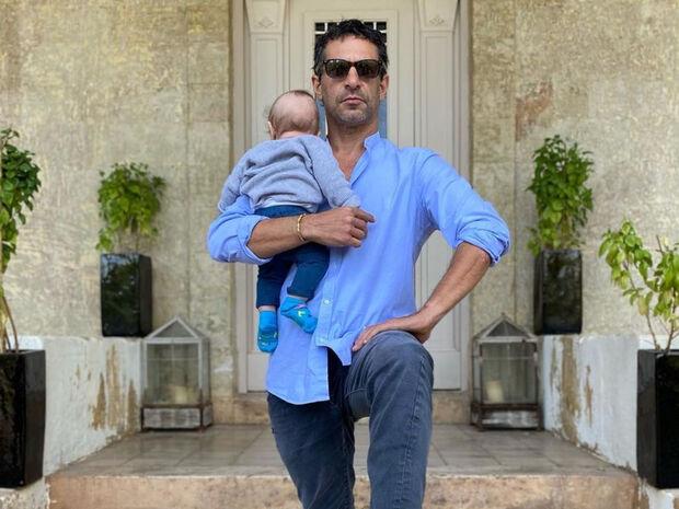 Γιώργος Χρανιώτης: Εργάζεται στο σπίτι παρέα με τον γιο του