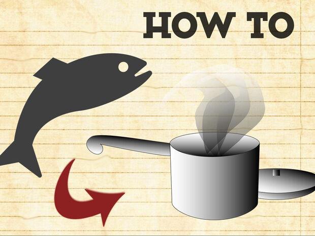 Συμβουλές για να ψήσουμε ψάρι στον ατμό χωρίς ατμομάγειρα από τον Άκη Πετρετζίκη
