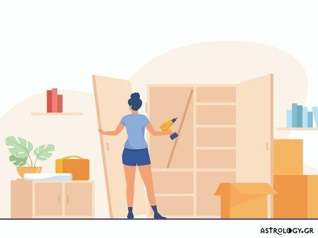 Ξέρουμε από το ζώδιό σου πώς και αν θα ανανεώσεις το σπίτι σου, τώρα που είναι Άνοιξη
