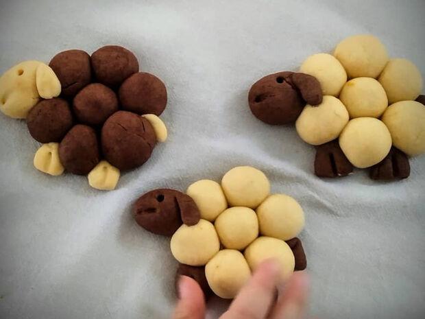 Μπισκότα προβατάκια - Πώς θα τα φτιάξετε και εσείς