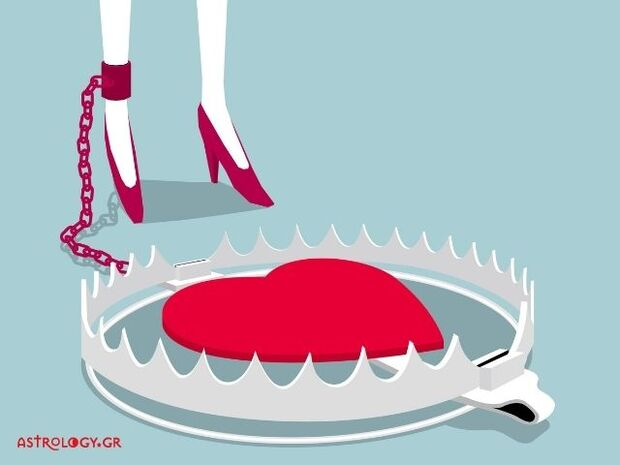 Σε αυτή την παγίδα κινδυνεύεις να πέσεις, αν ερωτευτείς, ανάλογα με το ζώδιό σου