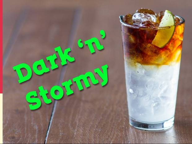 Συνταγή για dark 'n' stormy από τον Άκη Πετρετζίκη