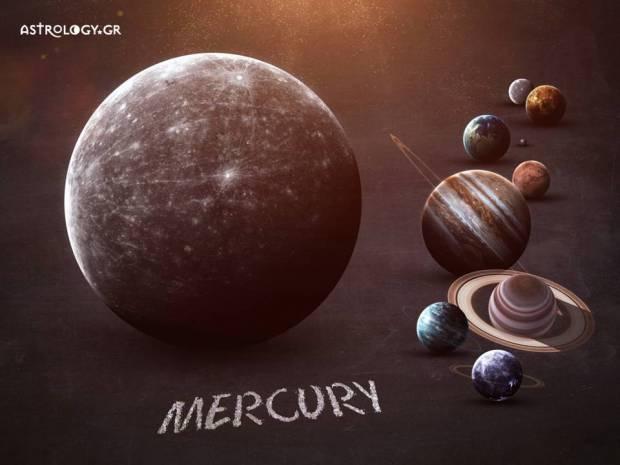 Οι όψεις του Ερμή με τους υπόλοιπους πλανήτες σε ένα ωροσκόπιο και η ερμηνεία τους