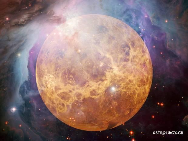 Οι όψεις της Αφροδίτης με τους υπόλοιπους πλανήτες σε ένα ωροσκόπιο και η ερμηνεία τους