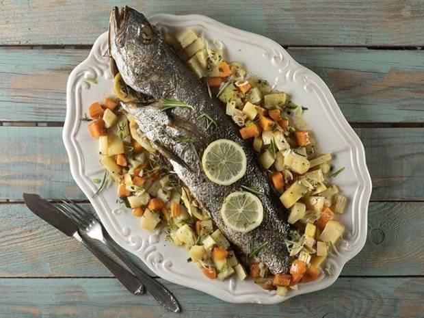Συνταγή για μυλοκόπι με λαχανικά από τον Άκη Πετρετζίκη