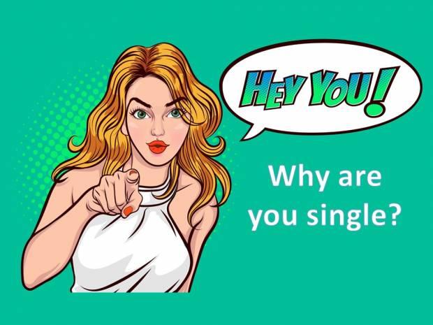 Να γιατί είσαι ακόμα μόνη