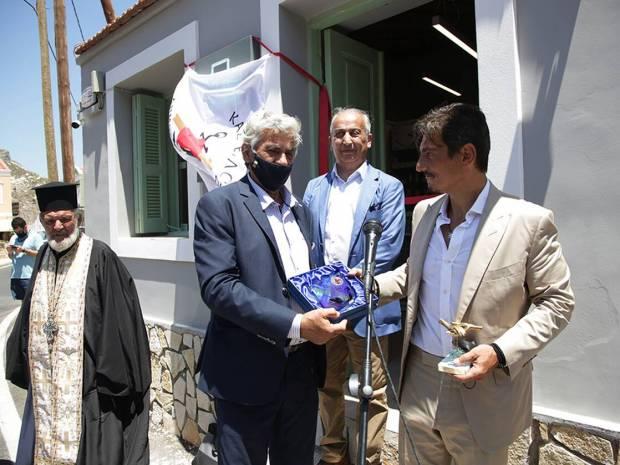 Το νέο εξοπλισμένο φαρμακείο στο Καστελλόριζο με την τιμητική ονομασία «Παύλος Γιαννακόπουλος»