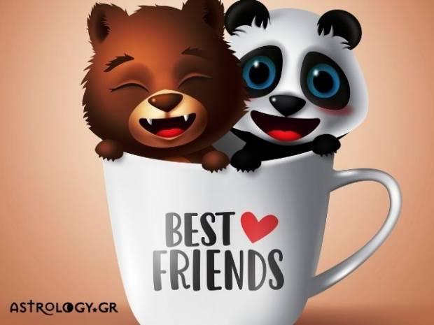 Εσείς ψηφίσατε τα ζώδια που τιμούν τις φιλίες τους
